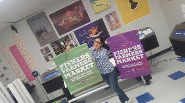 Fishers Farmers' Market Banner